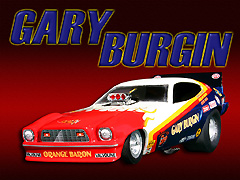 Gary Burgin's Orange Baron Mustang II