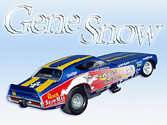 "Gene ""The Snowman"" Snow's Blue Charger"