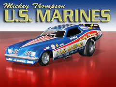 Mickey Thompson's US Marines Grand Am