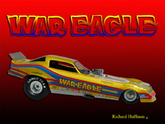 Dale Pulde's War Eagle Trans Am